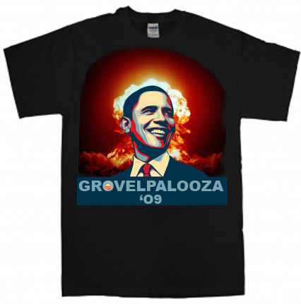 Grovelpalooza '09 Tour T-shirt